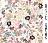 beautiful seamless pattern with ... | Shutterstock . vector #1959126586