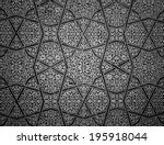tiled background with oriental... | Shutterstock . vector #195918044