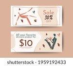 social media horizontal banner  ... | Shutterstock .eps vector #1959192433