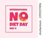 international no diet day...   Shutterstock .eps vector #1959257896