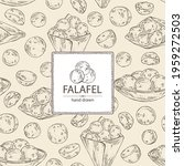 background with falafel ... | Shutterstock .eps vector #1959272503