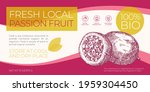fresh local fruits label... | Shutterstock .eps vector #1959304450