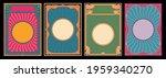 psychedelic color art nouveau... | Shutterstock .eps vector #1959340270