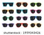 sunglasses set. sunglasses...   Shutterstock .eps vector #1959343426