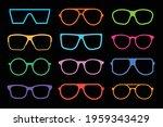 sunglasses set. sunglasses...   Shutterstock .eps vector #1959343429
