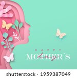 happy mother's day greeting... | Shutterstock .eps vector #1959387049