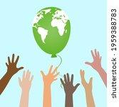 illustration of environmental... | Shutterstock .eps vector #1959388783