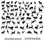 animal,antelope,antler,art,black,cattle,christmas,collection,cute,deer,design,doe,drawing,element,fawn