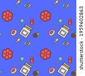 sweets pattern design on...   Shutterstock . vector #1959602863