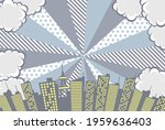 monochrome background material... | Shutterstock .eps vector #1959636403