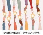 brainstorming concept.metaphor... | Shutterstock .eps vector #1959643996
