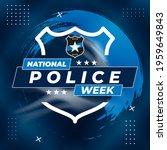 national police week.... | Shutterstock .eps vector #1959649843