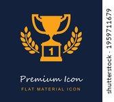 first prize trophy premium...