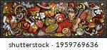 spain hand drawn cartoon...   Shutterstock .eps vector #1959769636