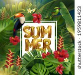 summer time typographic... | Shutterstock .eps vector #1959811423