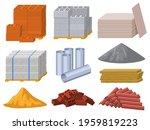 building materials....   Shutterstock .eps vector #1959819223