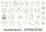 mystical astrology elements.... | Shutterstock .eps vector #1959819250