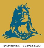 drawing or sketch of indian... | Shutterstock .eps vector #1959855100