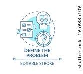 define the problem blue concept ... | Shutterstock .eps vector #1959885109