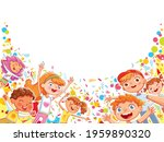 children are having fun at the...   Shutterstock .eps vector #1959890320