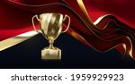 golden champion cup with wavy... | Shutterstock .eps vector #1959929923