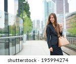 Portrait Of A Business Woman...