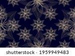Seamless  Dark Blue Background ...