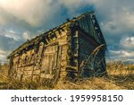 abandoned wooden house in a... | Shutterstock . vector #1959958150