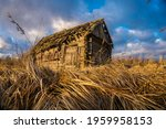 abandoned wooden house in a... | Shutterstock . vector #1959958153