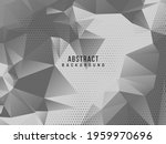 abstract grey and white... | Shutterstock .eps vector #1959970696