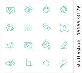 simple set of phone related... | Shutterstock .eps vector #1959973129