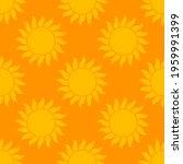 summer suns background. orange...   Shutterstock .eps vector #1959991399