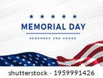 memorial day   remember and... | Shutterstock .eps vector #1959991426