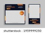furniture editable minimal... | Shutterstock .eps vector #1959999250