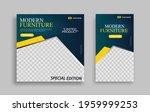 furniture editable minimal... | Shutterstock .eps vector #1959999253