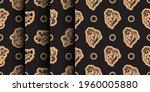 set of seamless luxury pattern... | Shutterstock .eps vector #1960005880