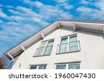 Front Of New House Facade Of...