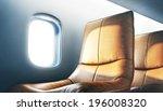 luxury airplane interior   Shutterstock . vector #196008320