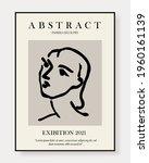 matisse abstract art set ... | Shutterstock .eps vector #1960161139
