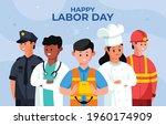happy labor day celebration.... | Shutterstock .eps vector #1960174909