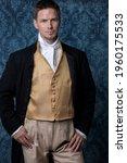 A handsome regency gentleman...