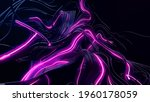 3d Render. Abstract Bg With...