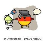 germany flag badge illustration ...   Shutterstock .eps vector #1960178800