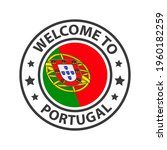 welcome to portugal. collection ... | Shutterstock .eps vector #1960182259