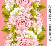abstract elegance seamless...   Shutterstock .eps vector #196018604