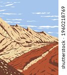 the navajo sandstone in san... | Shutterstock .eps vector #1960218769