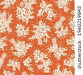 seamless aloha pattern of...   Shutterstock .eps vector #1960219843