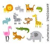 vector illustration  african... | Shutterstock .eps vector #1960266649