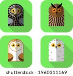 a set of funny icons with... | Shutterstock .eps vector #1960311169