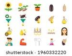 extraction of sunflower oil...   Shutterstock .eps vector #1960332220
